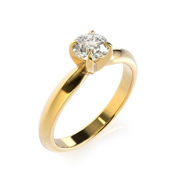 טבעת אירוסין ווילס זהב צהוב, 0.25 קראט
