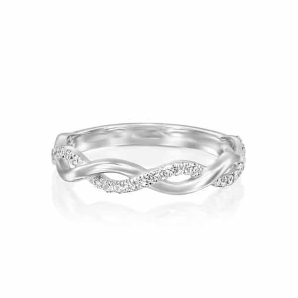 טבעת יהלומים אמה