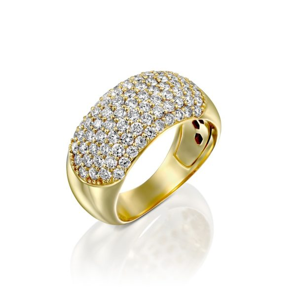 טבעת יהלומים ברק