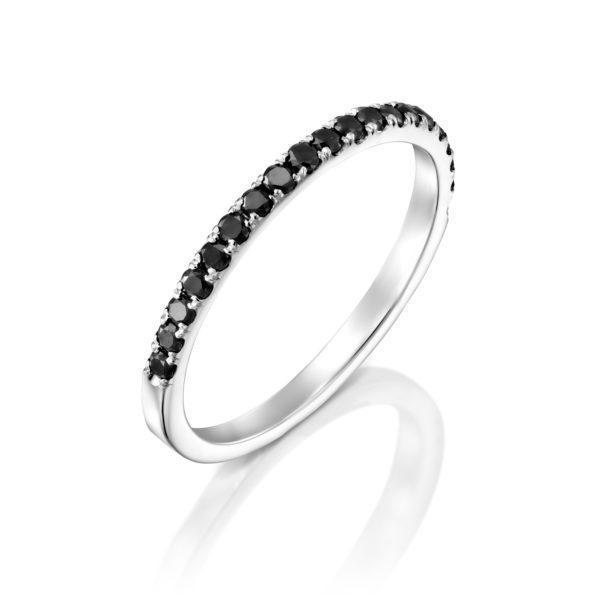 טבעת יהלומים אופק לילי