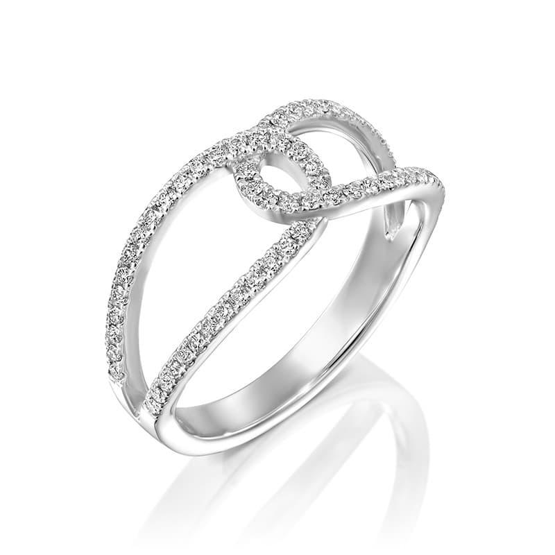 טבעת יהלומים דונה