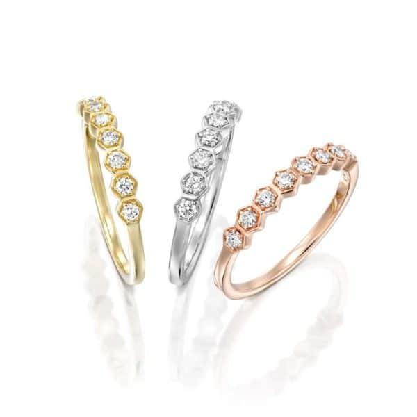 טבעת יהלומים אנדראה