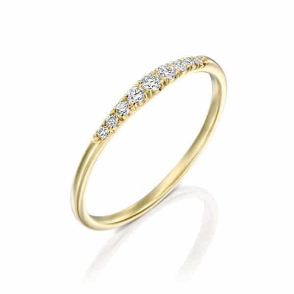 טבעת יהלומים לאורה