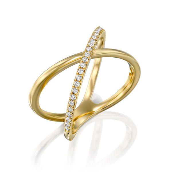 טבעת יהלומים מנדורלה