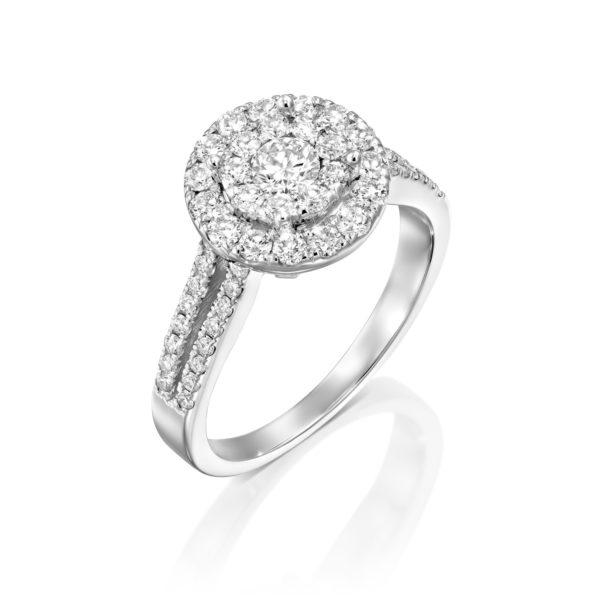 טבעת יהלומים סופיה