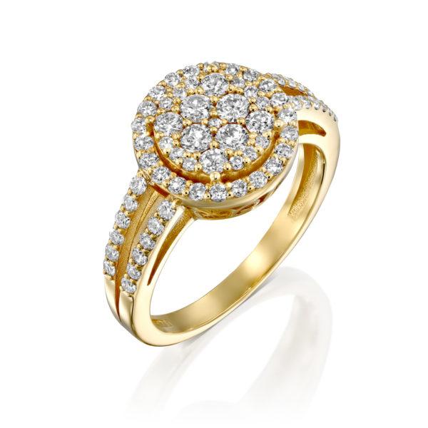 טבעת יהלומים אליתיה