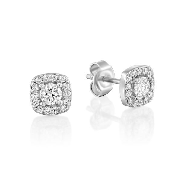 עגילי יהלומים אוריון