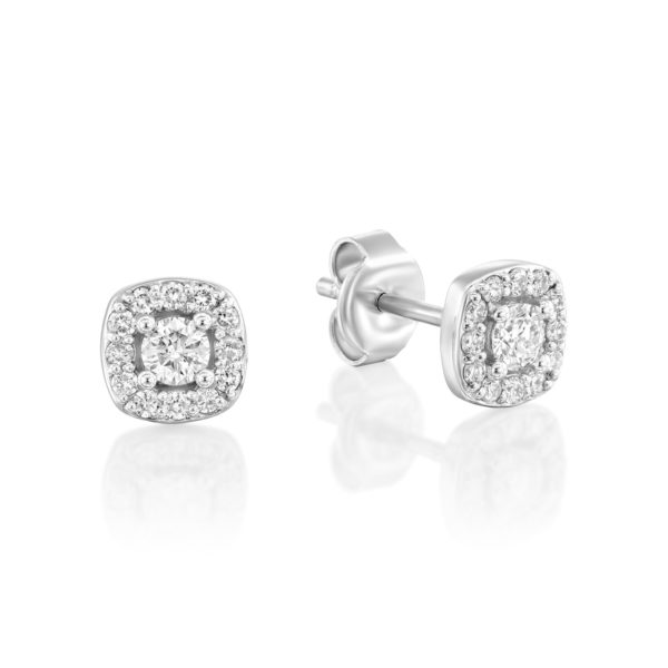 עגילי יהלומים סלאסט