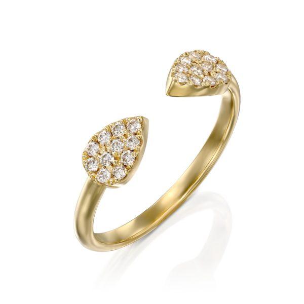 טבעת יהלומים ארוס