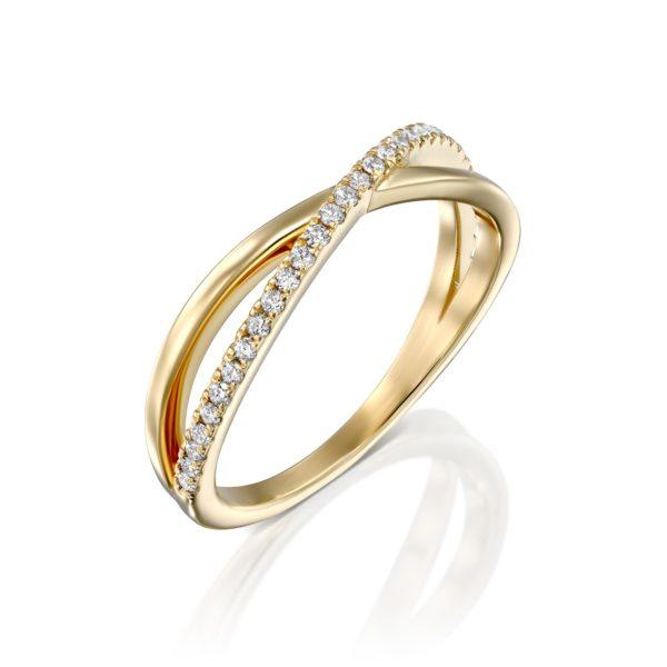 טבעת יהלומים וסיקה