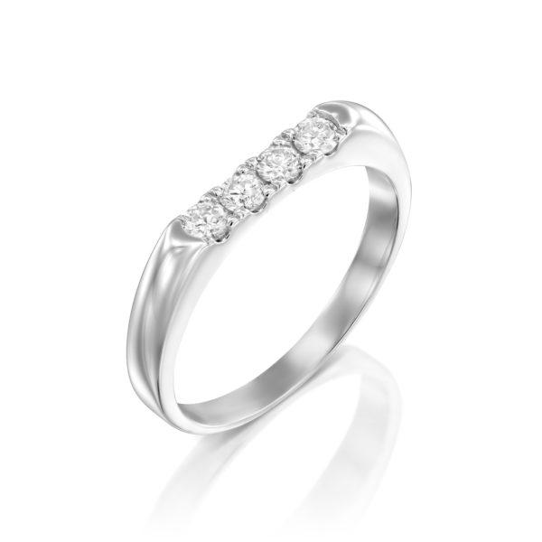 טבעת יהלומים אמיליה