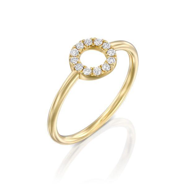 טבעת יהלומים דיוינטי