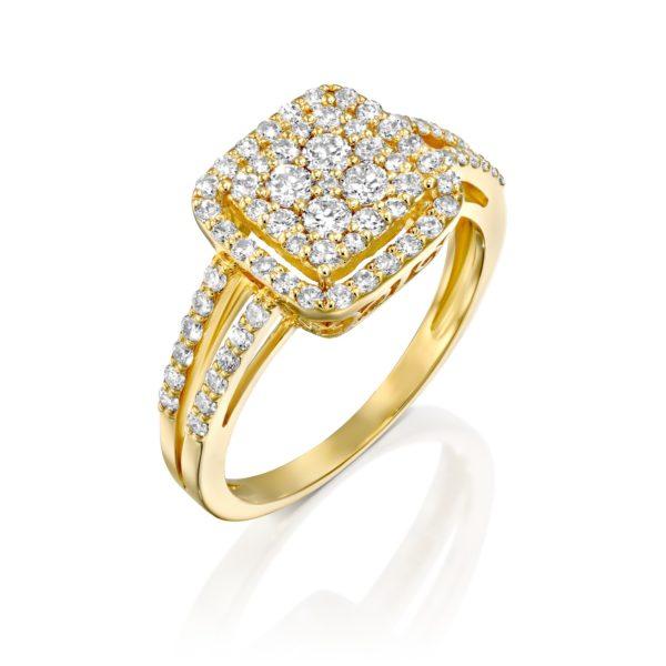 טבעת יהלומים מליסה