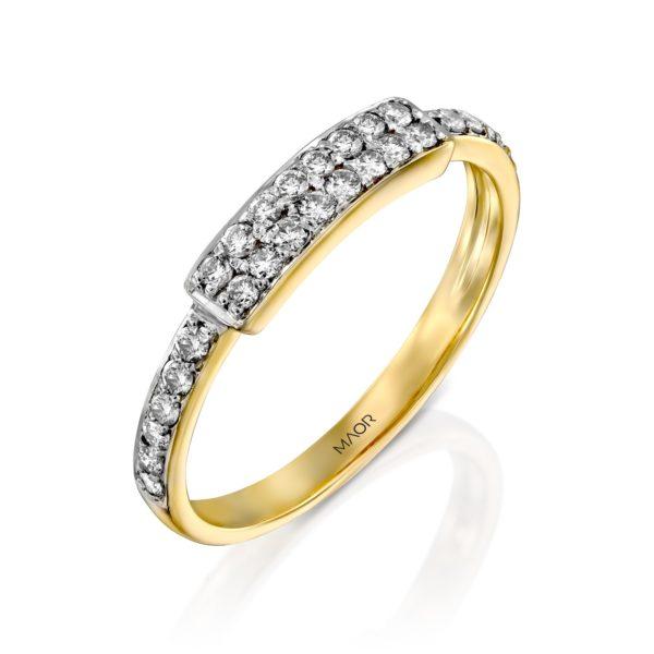 טבעת יהלומים עלמה