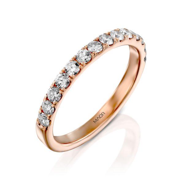 טבעת יהלומים מיה 0.70 קראט