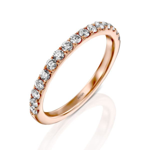 טבעת יהלומים מיה 0.50 קראט