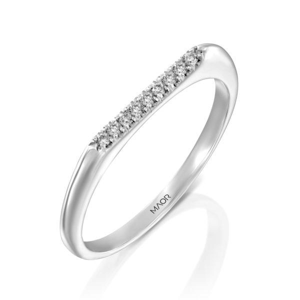 טבעת יהלומים לייני