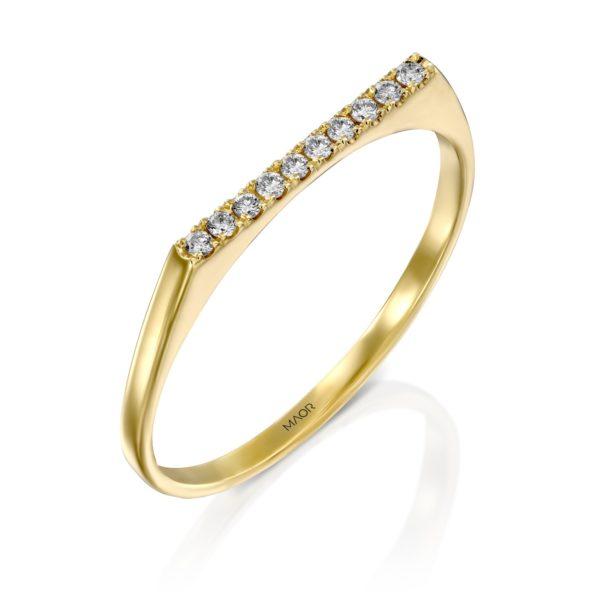 טבעת יהלומים ניקי