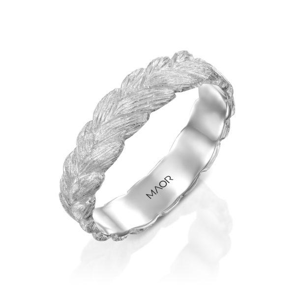 טבעת נישואין אלמוג