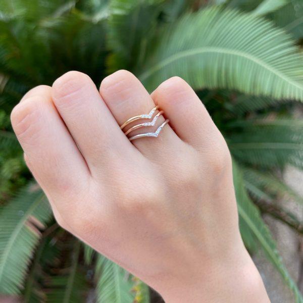 טבעת יהלומים סאני