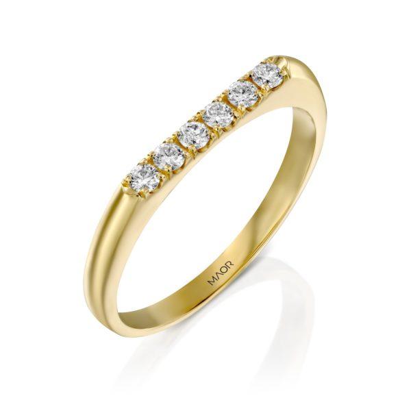 טבעת יהלומים נויה