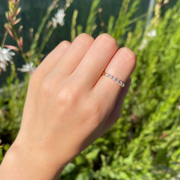טבעת יהלומים אנסטסיה